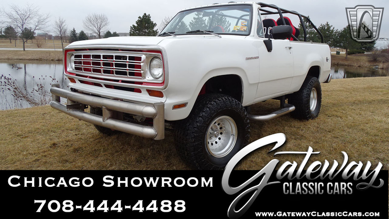 1974 Dodge Ram is listed For sale on ClassicDigest in Tinley Park by  Gateway Classic Cars - Chicago for $19000