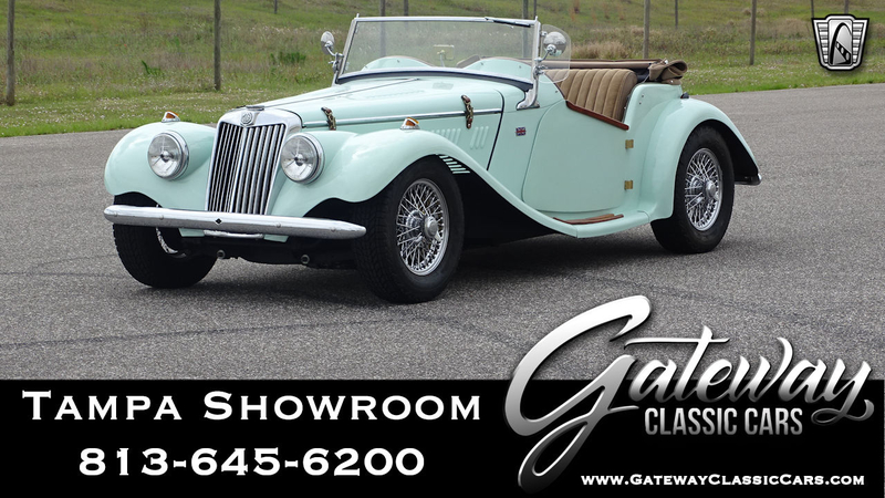 1954 MG TF is listed For sale on ClassicDigest in Ruskin by Gateway Classic  Cars - Tampa for $35000
