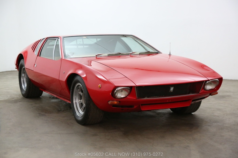 De Tomaso Mangusta >> 1970 De Tomaso Mangusta Is Listed For Sale On Classicdigest In Los Angeles By Beverly Hills Car Club For 184500