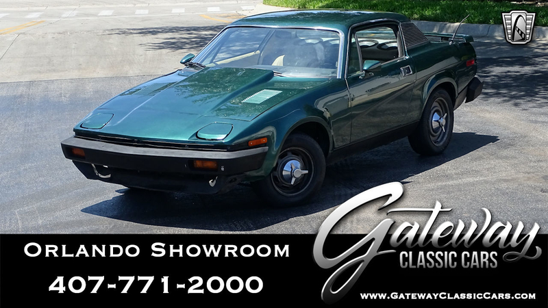 1976 Triumph TR7 is listed Till salu on ClassicDigest in Lake Mary by  Gateway Classic Cars - Orlando for $14000