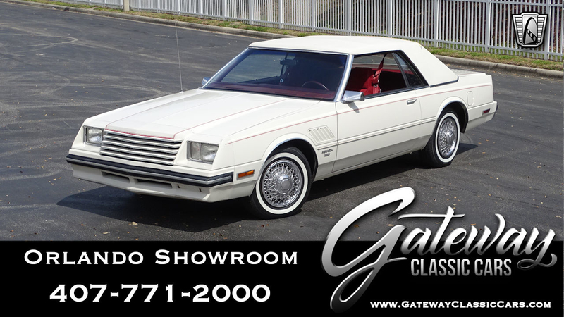 1983 Dodge Mirada is listed For sale on ClassicDigest in Lake Mary by  Gateway Classic Cars - Orlando for $14500