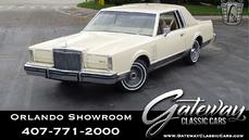 Lincoln Continental Mark VI 1983
