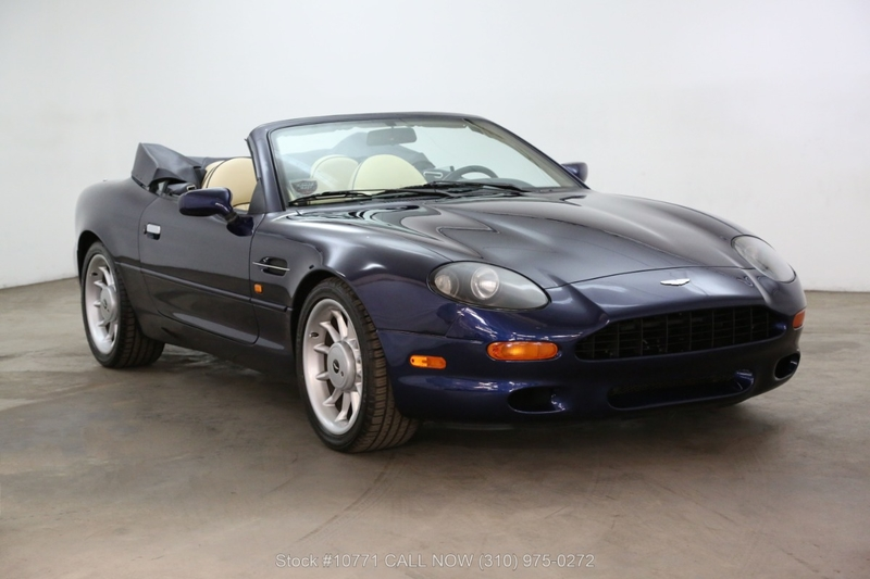 1998 Aston Martin Db7 Is Listed Verkauft On Classicdigest In Los Angeles By Beverly Hills For 28500 Classicdigest Com