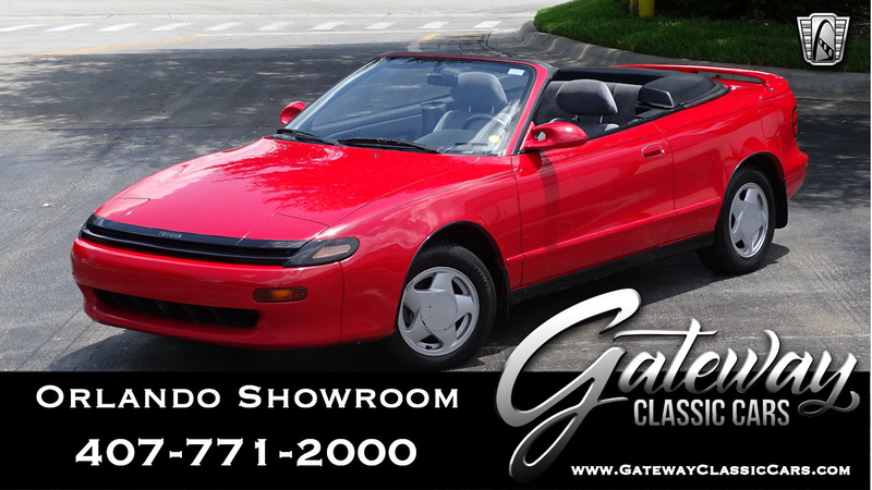 1991 Toyota Celica is listed For sale on ClassicDigest in Lake Mary by  Gateway Classic Cars - Orlando for $8500