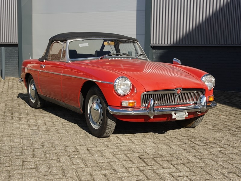 1968 MG MGB is listed For sale on ClassicDigest in Brummen