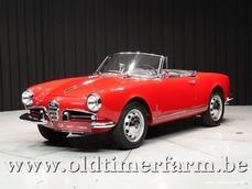Alfa Romeo Giulietta Spider 1962