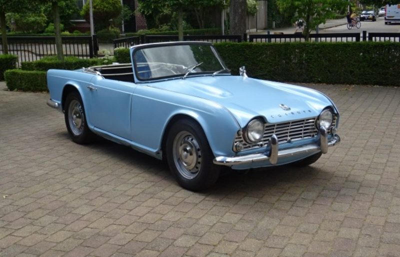 1964 Triumph TR4 is listed Sold on ClassicDigest in