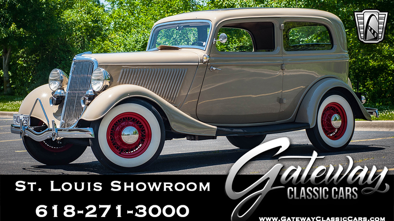 1934 Ford Sedan is listed For sale on ClassicDigest in OFallon by Gateway  Classic Cars - St  Louis for $43000