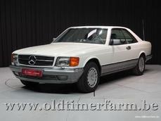 Mercedes-Benz 500 SEC w126 1983