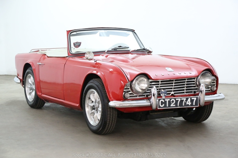1965 Triumph TR4 is listed For sale on ClassicDigest in Los Angeles by  Beverly Hills Car Club for $16750