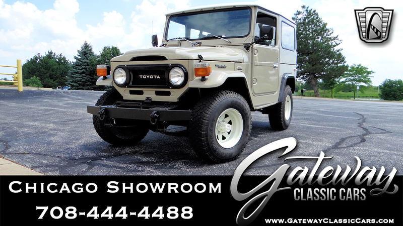 1975 Toyota FJ40 is listed For sale on ClassicDigest in Tinley Park by  Gateway Classic Cars - Chicago for $45000