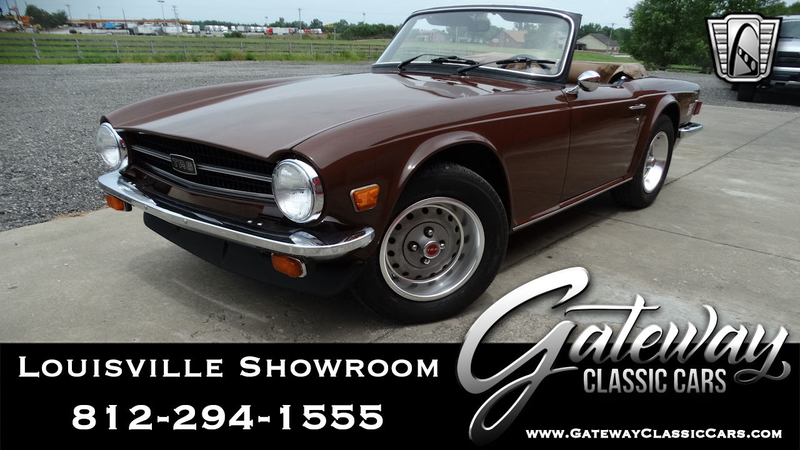 Triumph Cars For Sale >> 1976 Triumph Tr6 Is Listed For Sale On Classicdigest In Memphis By Gateway Classic Cars Louisville For 15000