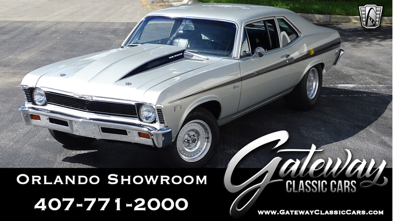 1969 Chevrolet Nova Is Listed For Sale On Classicdigest In Lake Mary By Gateway Classic Cars Orlando For 39500