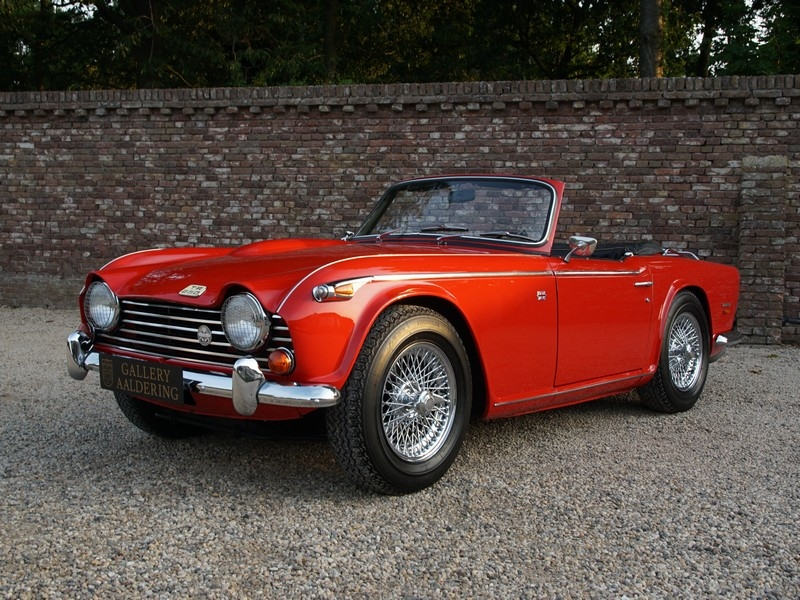 1968 Triumph TR5 is listed For sale on ClicDigest in Brummen by The on