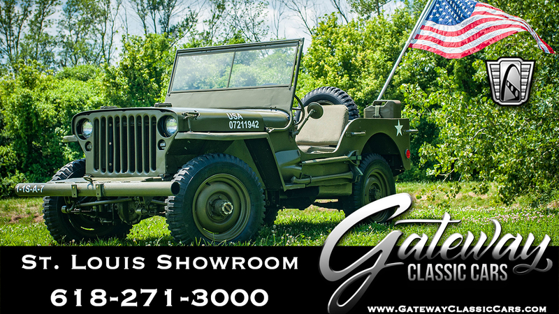 Willys Jeep For Sale >> 1942 Willys Jeep Is Listed For Sale On Classicdigest In Ofallon By Gateway Classic Cars St Louis For 25500