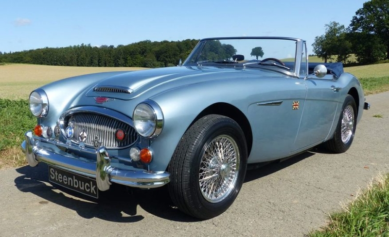 1967 Austin Healey 3000 Is Listed For Sale On Classicdigest In