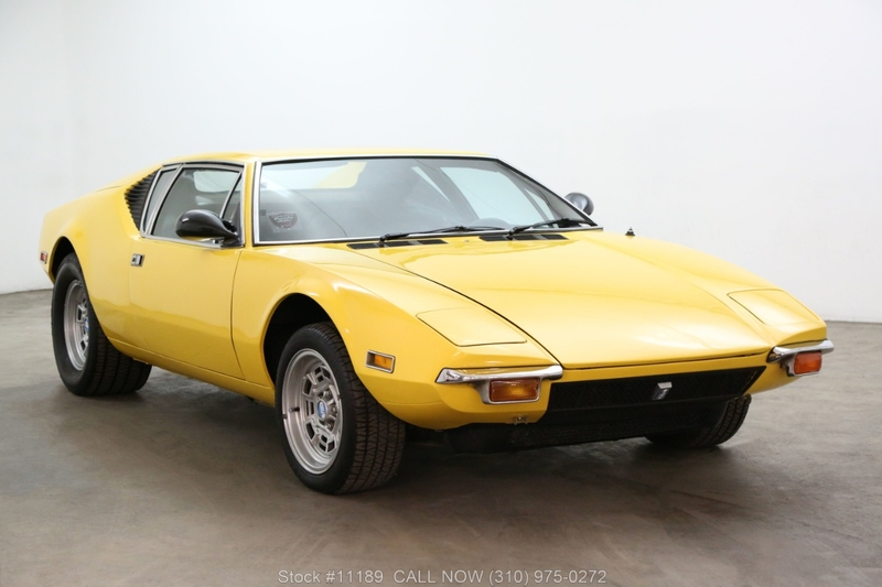 Pantera For Sale >> 1972 De Tomaso Pantera Is Listed For Sale On Classicdigest In Los Angeles By Beverly Hills Car Club For 69500