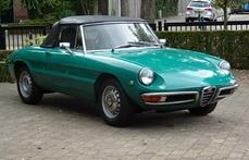 Alfa Romeo Spider Duetto 1969