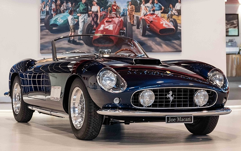 1958 Ferrari 250 California Spyder Is Listed Sold On Classicdigest In London By Auto Dealer For Not Priced Classicdigest Com