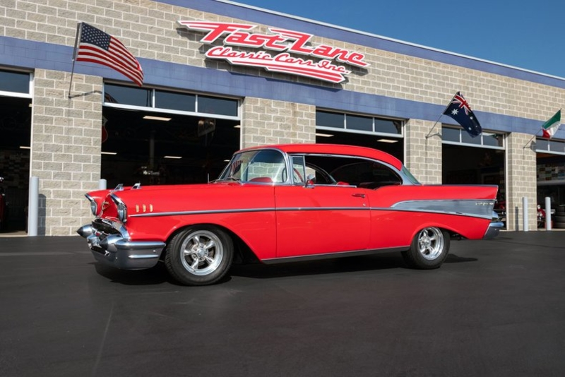 1957 Chevy Bel Air For Sale >> 1957 Chevrolet Bel Air Is Listed For Sale On Classicdigest In Missouri By Fast Lane Classic Cars For 64995