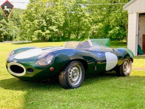 Jaguar D-Type 1957