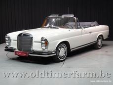 Mercedes-Benz 220SE Cabriolet w111 1964