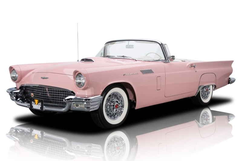 1957 Ford Thunderbird Is Listed Sold On Classicdigest In Charlotte By Donald Berard For 66900 Classicdigest Com