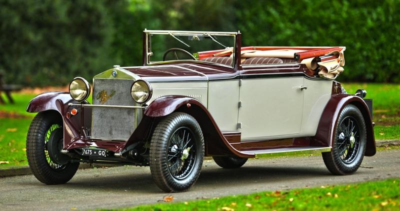 Alfa Romeo 6c >> 1934 Alfa Romeo 6c 1500 Is Listed For Sale On Classicdigest