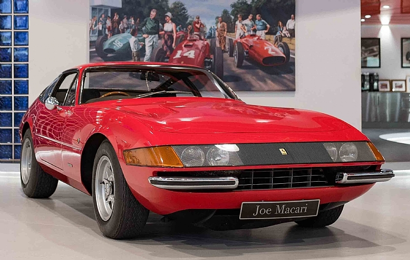 1969 Ferrari 365 Gtb 4 Daytona Is Listed For Sale On Classicdigest In London By Joe Macari Performance Cars Ltd For 549950 Classicdigest Com