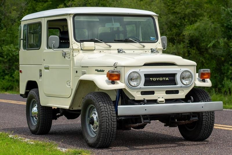 1977 Toyota Land Cruiser FJ 40 Sold for over $100,000
