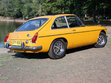 MG MGB GT 1973