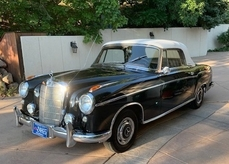 Mercedes-Benz 220s/SE Cabriolet Ponton 1957