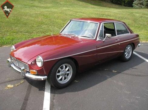 MG MGB GT 1969