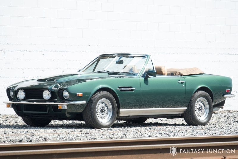 1986 Aston Martin V8 Is Listed Verkauft On Classicdigest In Emeryville By Fantasy Junction For 179500 Classicdigest Com