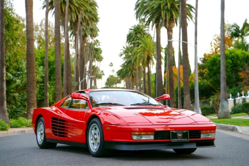 1986 Ferrari Testarossa Is Listed Zu Verkaufen On Classicdigest In Los Angeles By Beverly Hills Car Club For 108500 Classicdigest Com