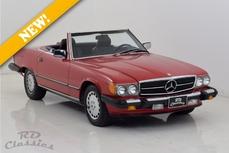 Mercedes-Benz 500SL w107 1987