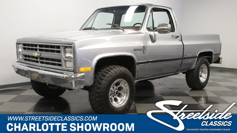 1985 Chevrolet K10 Is Listed For Sale On Classicdigest In Charlotte North Carolina By Streetside Classics Charlotte For 23995 Classicdigest Com
