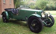 Alvis Speed 20 1931