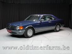 Mercedes-Benz 560 SEC w126 1986