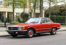 Mercedes-Benz 280SL w113 1981