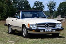 Mercedes-Benz 380SL w107 1986