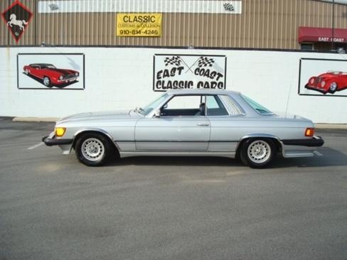 Mercedes-Benz 450SL w107 1981