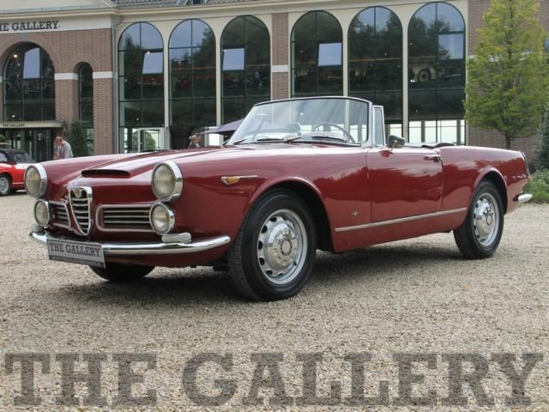 1962 Alfa Romeo 2600 Spider Is Listed Sold On Classicdigest In
