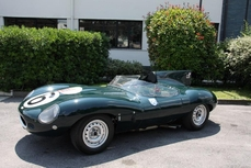 Jaguar D-Type 1958