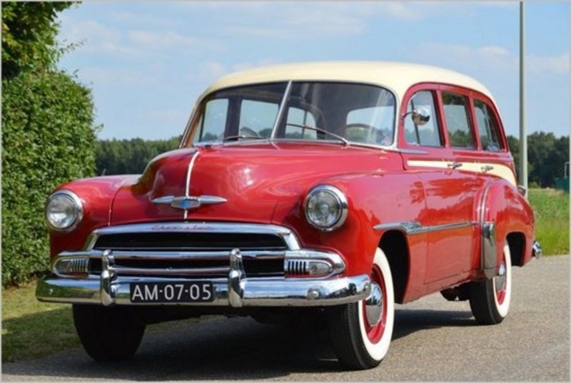1951 Chevrolet Styleline is listed Sold on ClassicDigest in