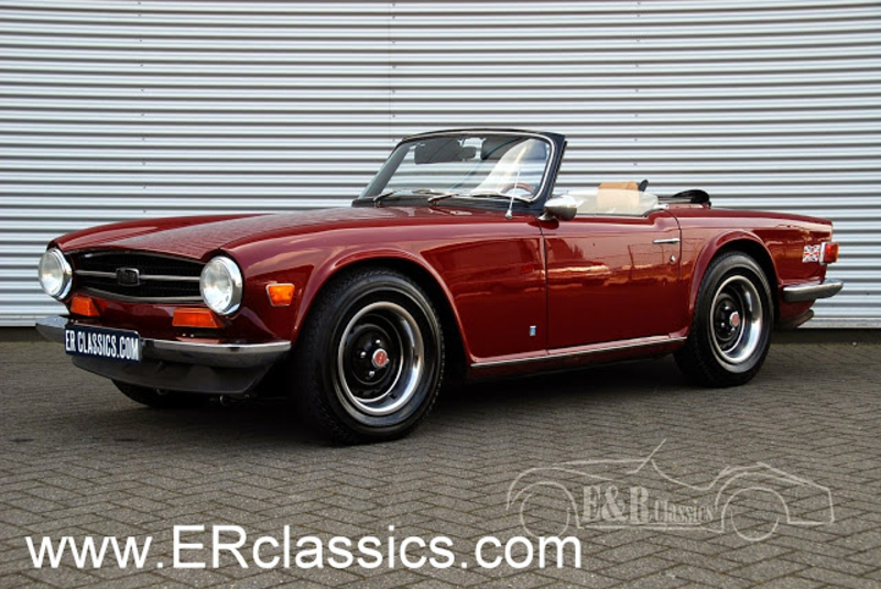 1973 Triumph Tr6 Is Listed Sold On Classicdigest In Waalwijk By E R