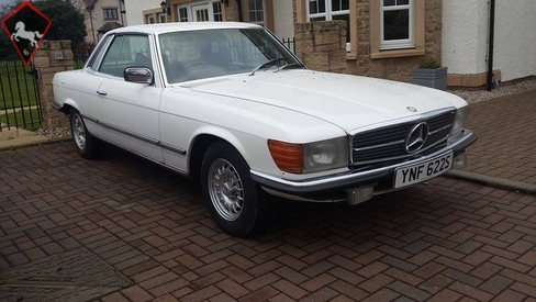 Mercedes-Benz 280SLC w107 1978