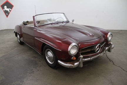 1963 mercedes benz 190sl is listed sold on classicdigest for Mercedes benz parts los angeles