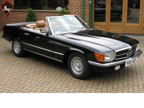 Mercedes-Benz 450SL w107 1983