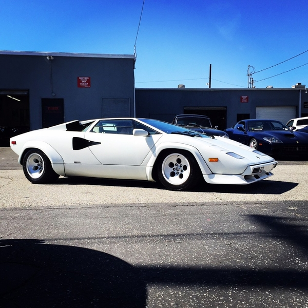 1984 Lamborghini Countach Is Listed S 229 Ld On Classicdigest